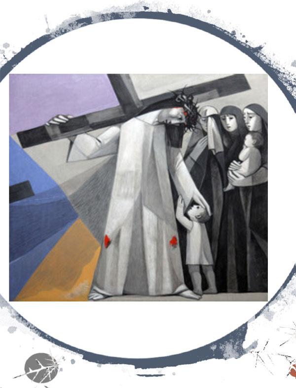 Station 8 Jesus consoles the women