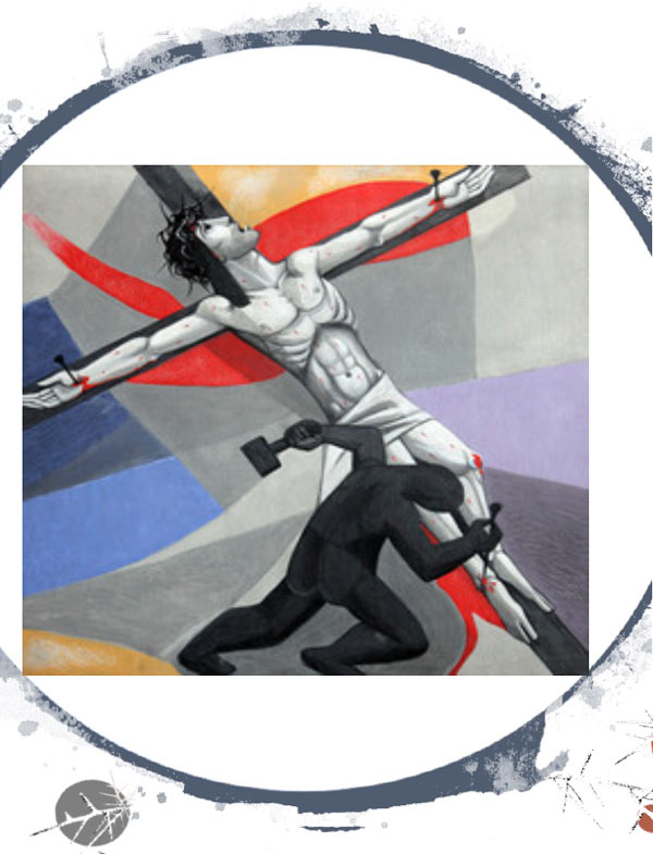 Station11: Jesus Is Crucified